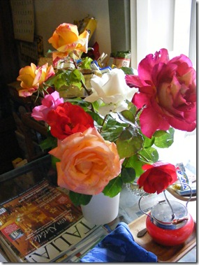roses, bday party 063