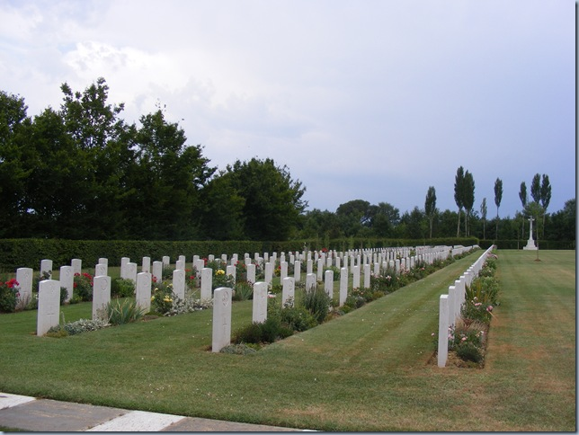 WWII cemetary in arezzo, pork ribs 007